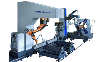 Robotic Tube and I-Beam Cutter - Midland
