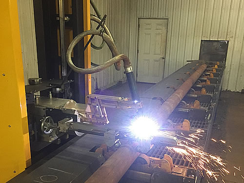 W-124 (6-Axis) Plasma Pipe Cutting Machines
